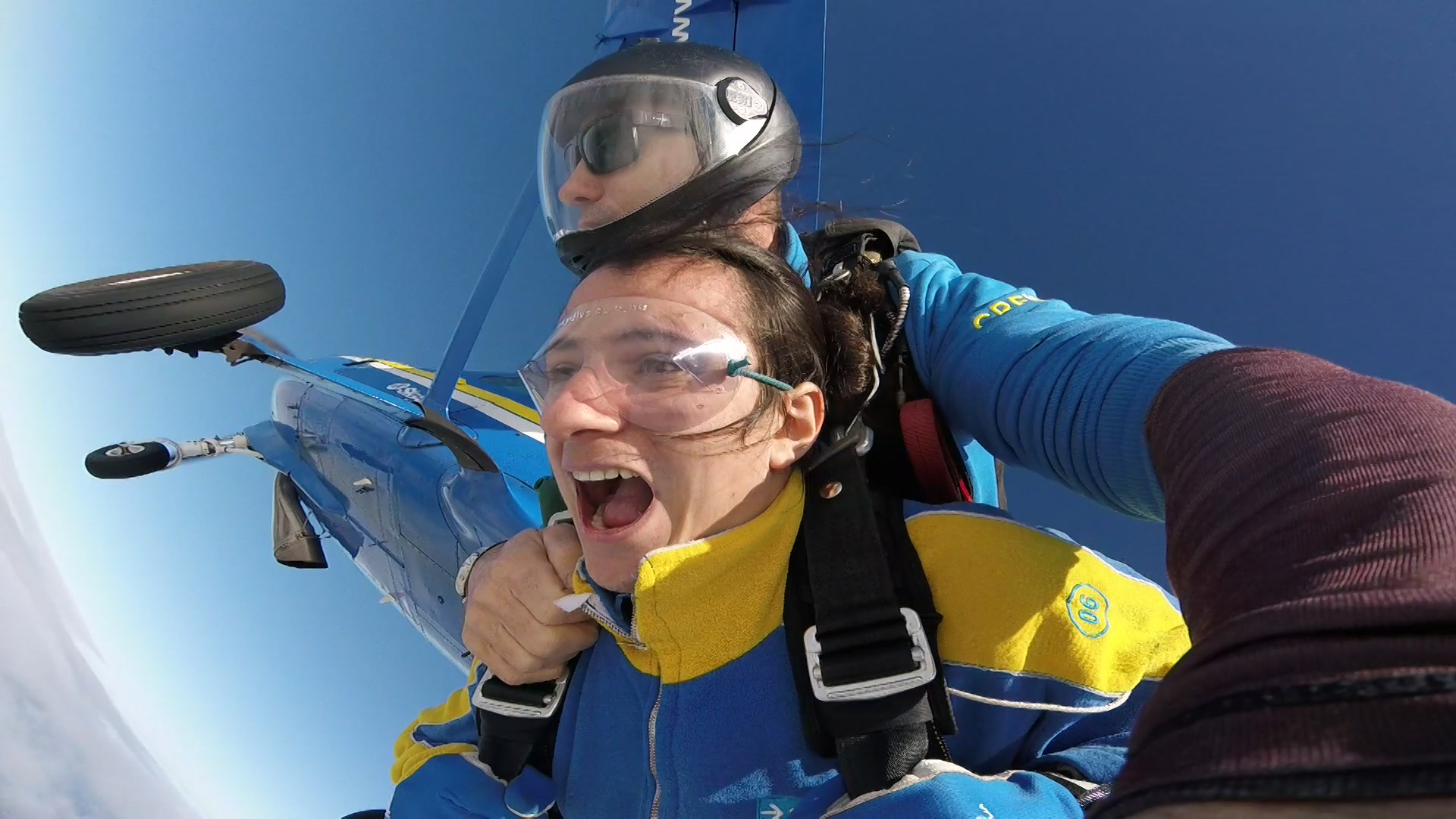 Skydiving with Sunday Avenue